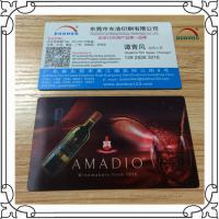 Best Offset Printing PET / PP 3D Lenticular Business Cards With Up And Down Effect wholesale