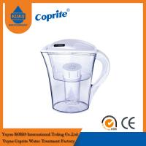 Cheap 2.5L / 1.3L Countertop Brita Alkaline Water Jug / Water Purification Pitcher for sale