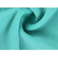 China Lean Textile New fashion 100% polyester crinkle chiffon fabric on sale