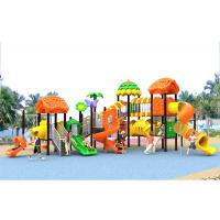 China Galvanised Steel Toddler Kids Plastic Play Structure Playground Sets Exercise on sale