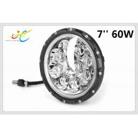 China New Jeep wrangler accessories 5D RGB Halo 7 inch round led headlight 12v 24v Bluetooth Control with Dot Sae on sale