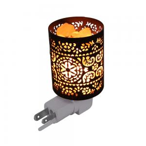 China Cylinder Himalaya Rock 7 Watt LED Salt Lamp Night Light on sale