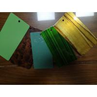 China Epoxy Polyester Wood Grain Texture Color Tech Powder Coating Excellent Flexibility on sale