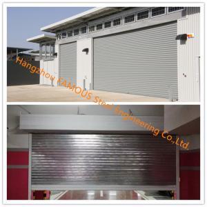 China Fire Prevention Motorized Folding Doors American Standard Fire Resistance Steel Sliding Door on sale