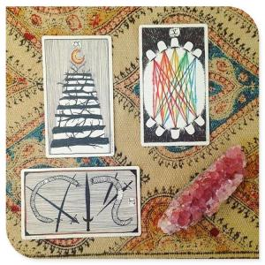 Best Thalo Witch Fortune Divination Print Oracle Cards 78 Number wholesale