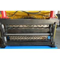 Best Double Layer Roll Forming Machine , Galvanised Steel Roof Panel Making Machine wholesale