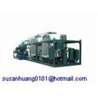 China Black used oil recycling system/ Motor oil/ Car oil/ Engine oil regeneration machine on sale