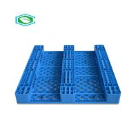 Best HDPE Reinforced Plastic Pallets 3 Skid Runners Recycled Sturdy Construction wholesale