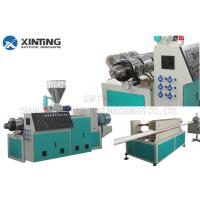China CE PVC Pipe Production Line With Vertical Gear Box For Plastic Pipe Diameter 16-63mm on sale