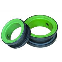 China Green PTFE Coated EPDM Valve Seat For Resilient Seat Butterfly Valve Durable on sale