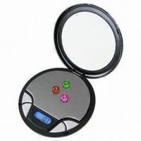 China Medical Electronic Pocket Scale with High-precision, Round CD Design on sale