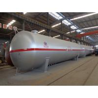 Best 100cbm Liquid Propane Gas Tank , Horizontal Transporting Large Propane Tanks wholesale