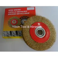 Best 4'' Good quality Crimp Steel Wire Brush wholesale