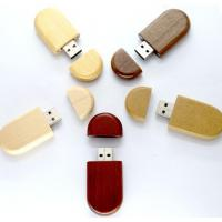 China 8GB 16GB 32GB Wood USB Flash Drive With Customized Logo Laser Engraved on sale