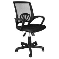 China 9KG Swivel Office Chairs With Wheels, High Back Computer ChairWith Lumbar Support on sale