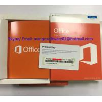 Best Computer Microsoft Office 2016 Retail Box Home And Student PKC Key / License / Key Card wholesale