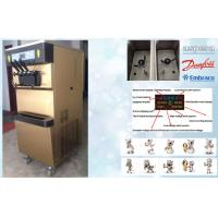 Buy cheap Single Flavour Automatic Frozen Yogurt Machines With 68L/H Capacity , 2P Horse Power product