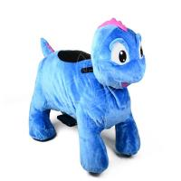Best Sibo Blue Dionsaur Animal Ride Model Toys For Kids Birthday Party wholesale