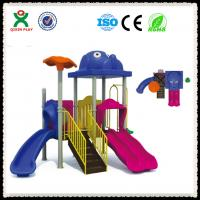 China LLDPE Plastic Playground Equipment Outdoor Playground Sets QX-055A on sale