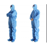 China Fluid Resistant Breathable SMS Disposable Isolation Gowns on sale