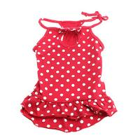 Best White point Red Sexy women dog clothes puppy apparel clothes for wholesale wholesale