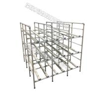 Best Durable Pipe Workbench Adjustable Composed Of Aluminum Alloy Pipe Connectors wholesale