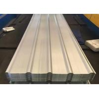 Best Structural Color Coated Steel Roofing Sheet Width 1200mm 60 - 120g / M2 Coating wholesale