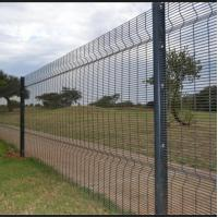 Best High Security Welded Mesh Fence Galvanized Wire Fence Panels Easily Assembled wholesale