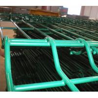 Best Wire metal fence 4 curve 5mm wire  pvc-coated green colour fence wholesale