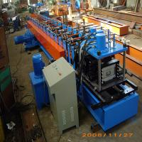 Buy cheap 38*12mm Galvanized Steel Small Main Channel   Roll Forming Machine for Ceiling and Roofing framing product