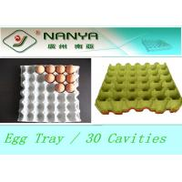 Best Biodegradable Pulp Moulded Products Disposable Egg Tray with 30 Cavities wholesale