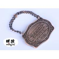 Best Bronze Plating Custom Sport Medals Heavy Weight Zinc Alloy With Engraved Logo wholesale