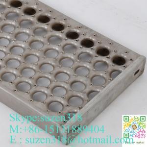 Best aluminum steel catwalk  /  anti-skid grip trut metal flooring wholesale