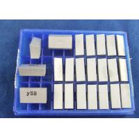 China YS8 Cemented Carbide Tool / Clamp Welding Cutting Tool Density Of 14.2g/Cm3 on sale