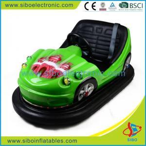 Best Blue Car Racing Amusement Park Bumper Car Rides Driving Machine With Motoin wholesale