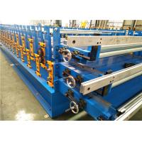 Best Metal Sheet Roof Roll Forming Machine , Metal Roofing Roll Former 550MPa Tension wholesale