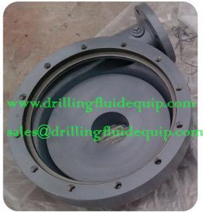 China BETTER BAKER SPD Mud Hog 2.5 Centrifugal Pump Casing Housing Semi-open Impeller Hard Iron on sale