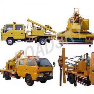 Best Guardrail Post Driver Truck wholesale