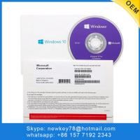 China Original Microsoft Windows 10 Pro COA Sticker Software 64 Bit Retail on sale
