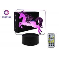 Best 4.5~5V 3D LED Illusion Lamps Child Gifts Age 2 Unicorn For Christmas New Year wholesale