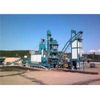 China 1000KG Mixer Capacity Mobile Asphalt Batch Mixing Plant 80th Output on sale