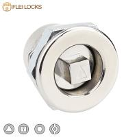 Buy cheap Industrial Hardware Quarter Turn Cam Lock 20*20 Size For Electric Cabinet from wholesalers