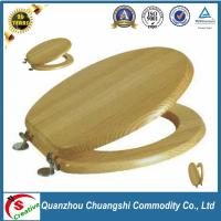 China bamboo wood bathroom toilet seat covers on sale