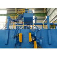 China Roller Conveyor Steel Plate Shot Blasting Machine for Surface Reinforcement on sale