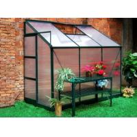Best anodized aluminum greenhouse with two windows wholesale