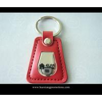 Best High quality handmade promotional custom metal leather keychain/PU keychain/key ring wholesale