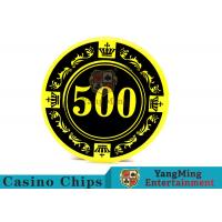 Best 12g Colorful Casino Quality Poker Chips With Crown Screen Convenient To Carry wholesale