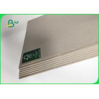 Best Grade AA / AAA Grey Chip Board Thickness Customized 1000mm Recycled Paper wholesale