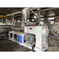 China Moisture Proof PVC Foam Board Extrusion Line 400kg/H Capacity 180kw on sale