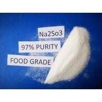China Cas No 7757 83 7 Sodium Sulfite Food Grade Na2SO3 97% Purity For Pharmaceutical Industry on sale